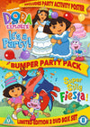 Dora The Explorer - Bumper Party Pack DVD