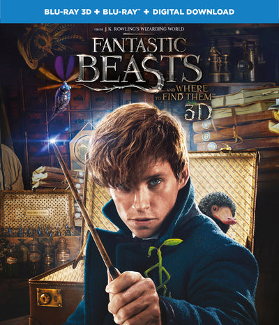 Fantastic Beasts and Where To Find Them Blu-ray 3D | Buy Blu-ray 3D online