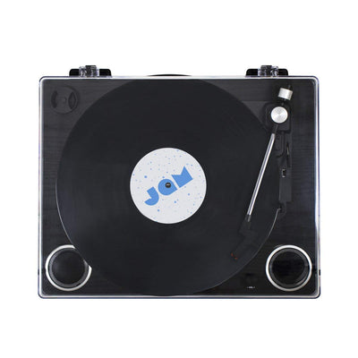 Jam Play - Vinyl Record Player [Black Wood]