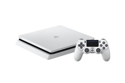 Sony PS4 500GB White Console + 1 Extra DS4 Controller