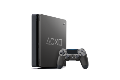 Sony PS4 1TB Console - Days of Play Limited Edition [Steel Black]
