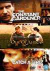 The Constant Gardener/Out Of Africa/Catch A Fire DVD