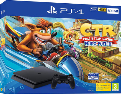 Playstation 4 500GB incl Crash Team Racing Nitro Fueled PS4