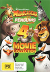 Madagascar And Penguins of Madagascar 4 Movie Collection DVD