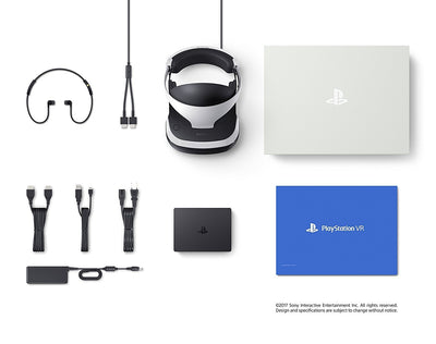 Sony Playstation VR Console with Camera & VR Worlds Game Included