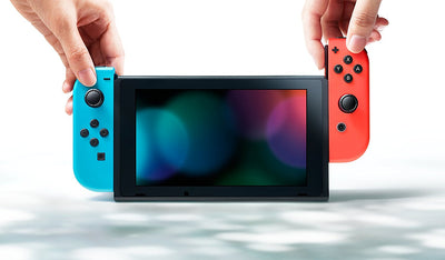 Nintendo Switch - Neon Red / Blue