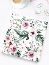 Handmade A5 Floral Planner Binder - Refillable 6 Ring Planner - Medium Wedding Journal - Blossom Diary - 4
