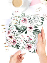 A5 Refillable Floral Weekly Planner 2021