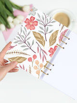 Floral A5 Ring Planner 2021