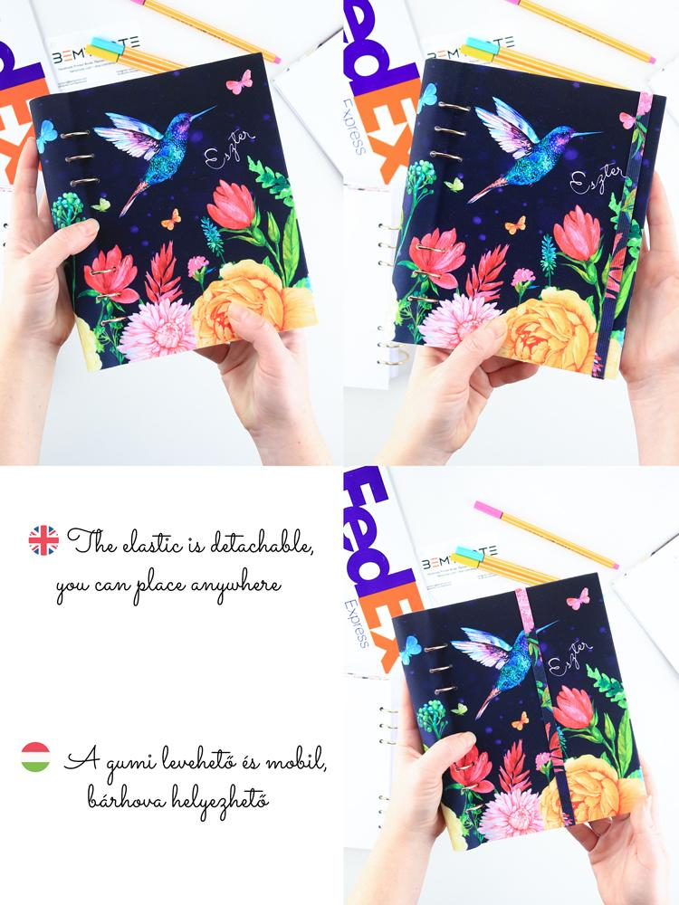 Custom Floral Notebook A5