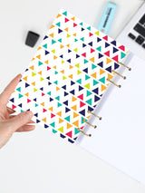 Colorful A5 Binder Planner 2021 - Happy Refillable Notebook - 2