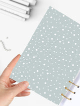 Cute A5 Winter Notebook - Icebear Binder Planner 2021 - 10