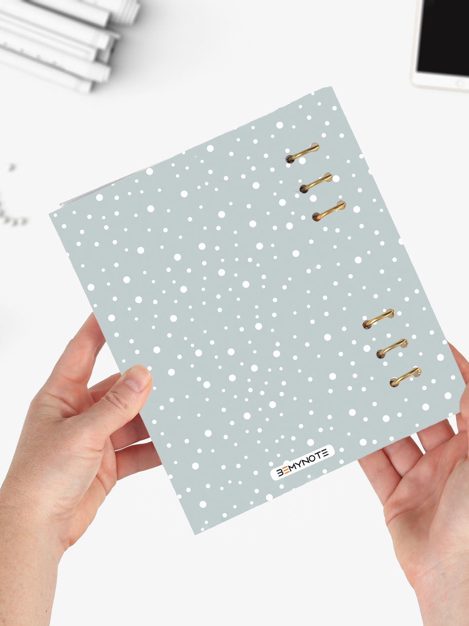 Cute A5 Winter Notebook - Icebear Binder Planner 2021 - 9