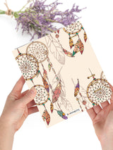 Boho Refillable A5 Writing Journal