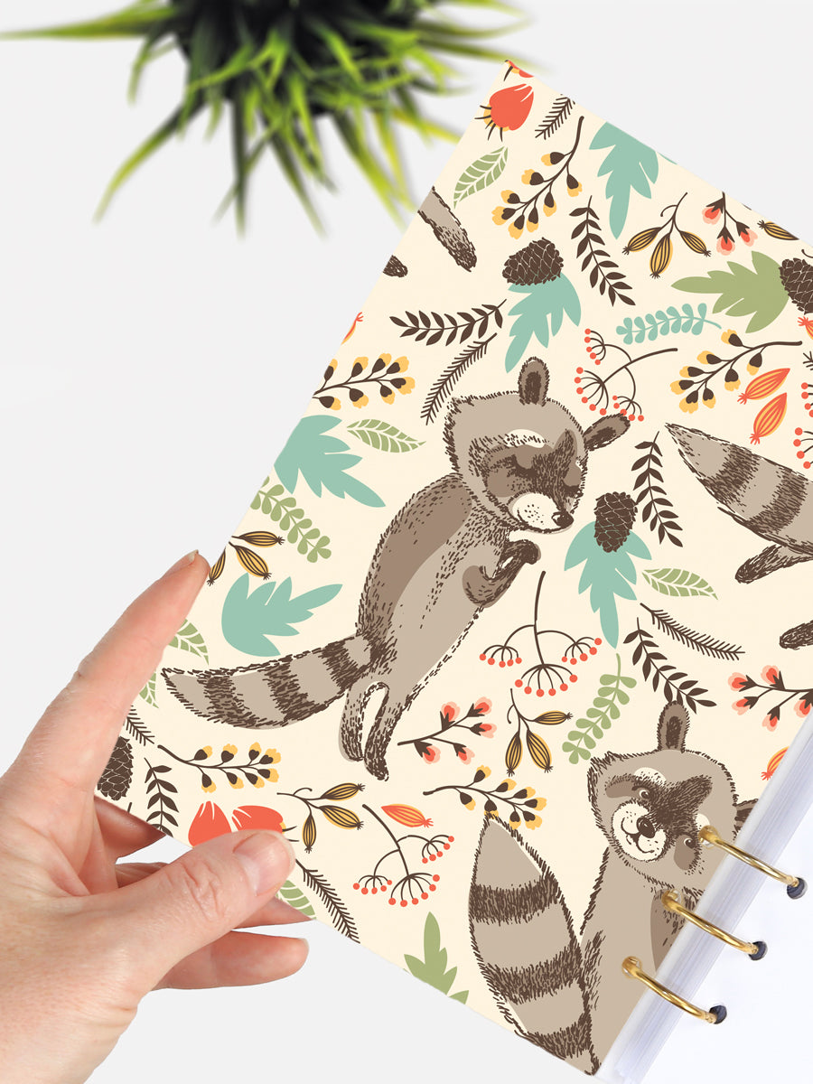 Raccoon Lover A5 Journal