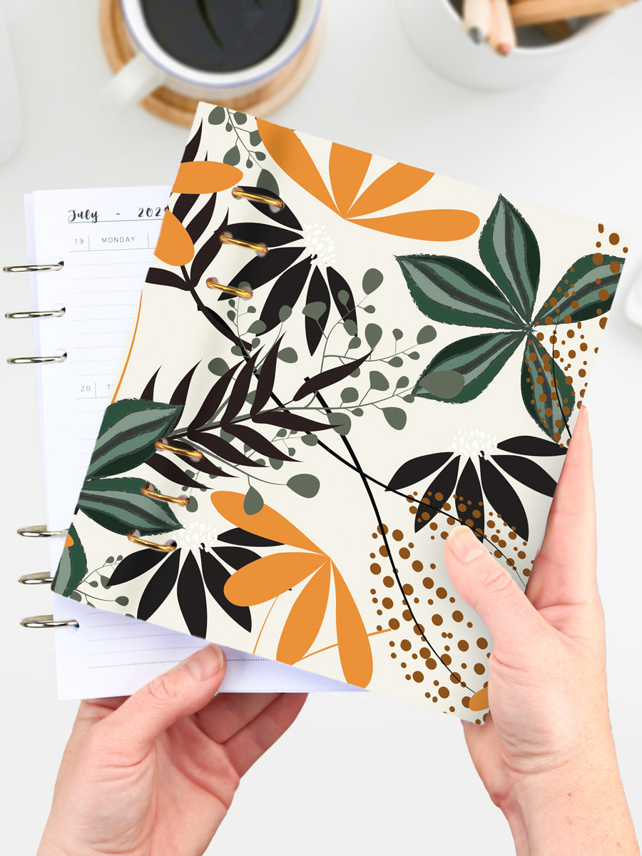 Floral Business Binder Planner 2021 - A5 Refillable Weekly Agenda - 1