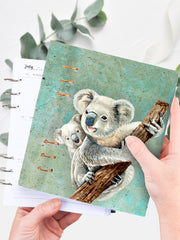 A5 Koala Ring Planner 2021 - Custom Bullet Journal for Girls - 1