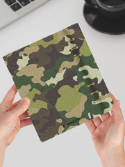 Gun and Camo Pattern Planner for Men 2021 - A5 Notebook for Men - 2