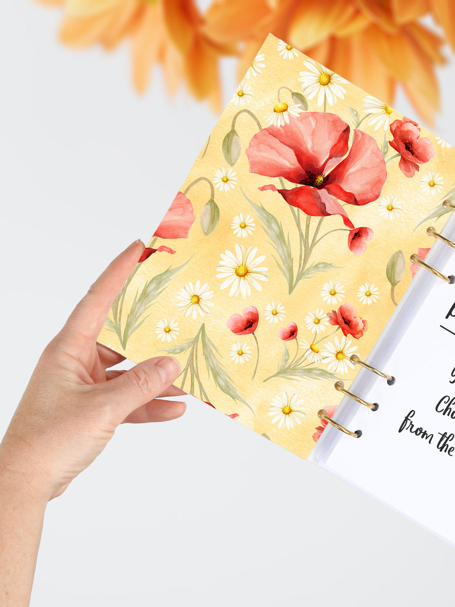 Poppy and Daisy Ring Planner 2021