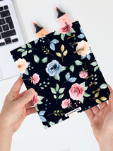 Personalized Floral Notebook