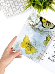 Refillable Butterfly Ring Planner