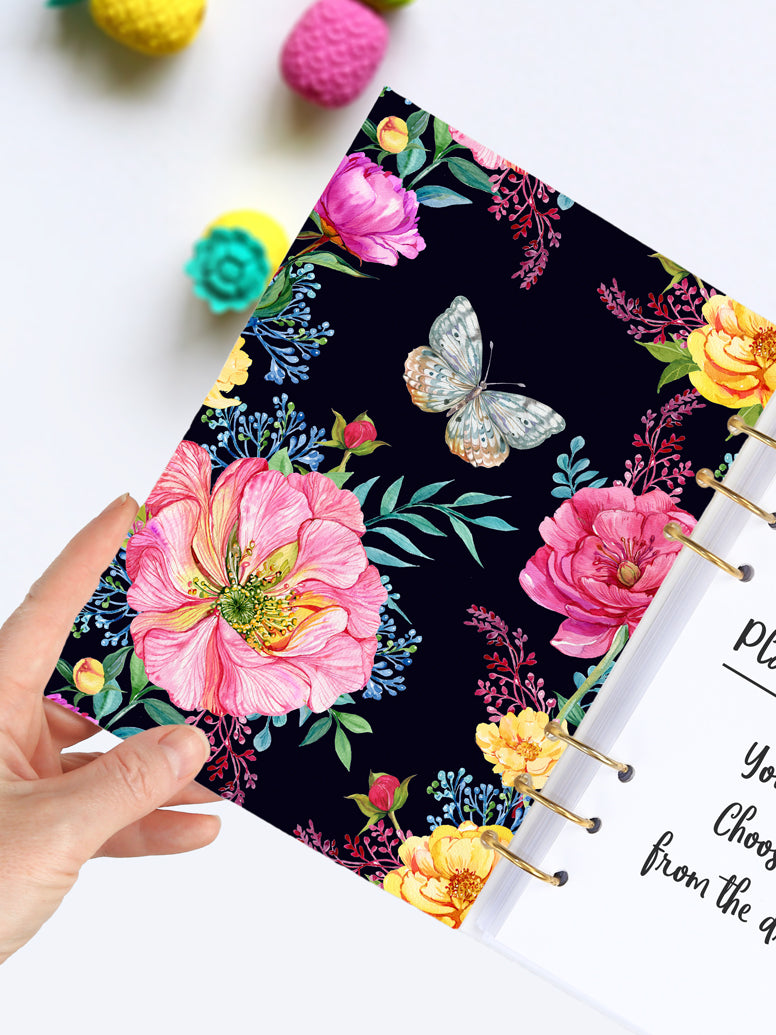 Personalized Summer Floral Journal