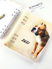 Personalized Planner with Dog Photo