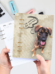 Custom Planner 2021 with Pet Photo - Personalized Dog Journal A5 - 1