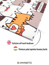 Funny Cat Patterned Journal