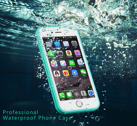 Coque de Protection Ultime Etanche (Waterproof) UltraSlim en Silicone pour IPhone 5 - 5S - 6 - 6S
