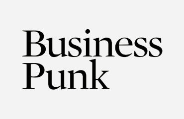 Business punk logo