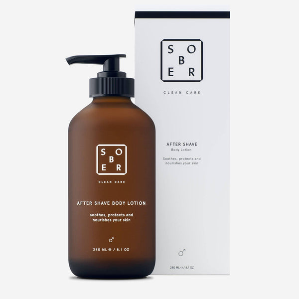 After Shave Body Lotion Aftershave sober