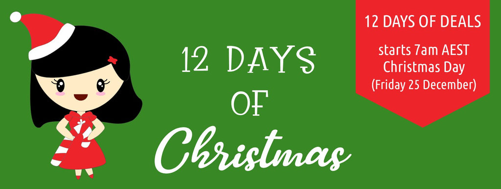Pretty Planner Studio 12 days of Christmas