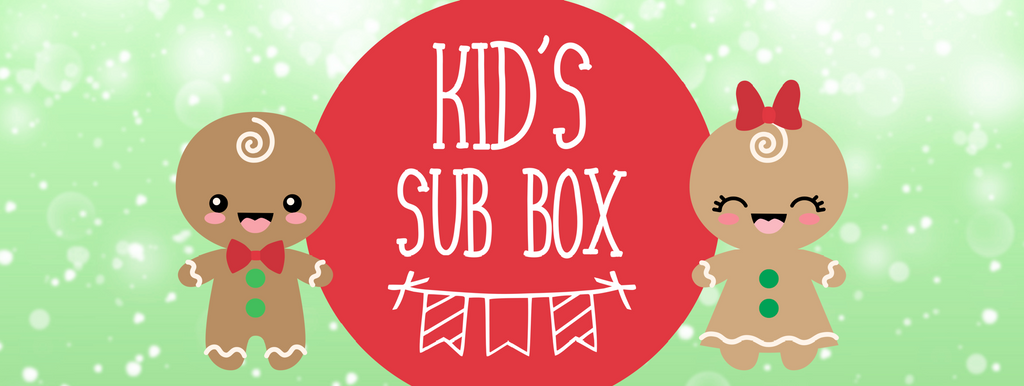 Kid's monthly subscription box - Christmas