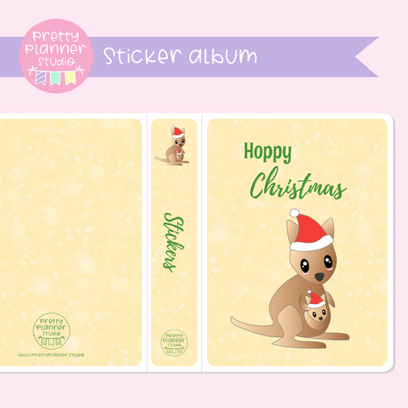 Aussie Christmas - Hoppy Christmas | sticker album | AC-006/2