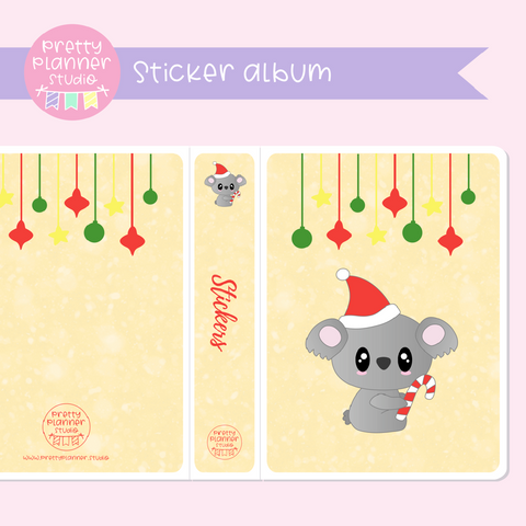 Aussie Christmas - Koala | sticker album | AC-006/4