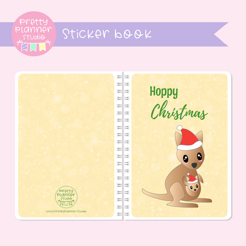 Aussie Christmas - Hoppy Christmas | sticker book | AC-007/2