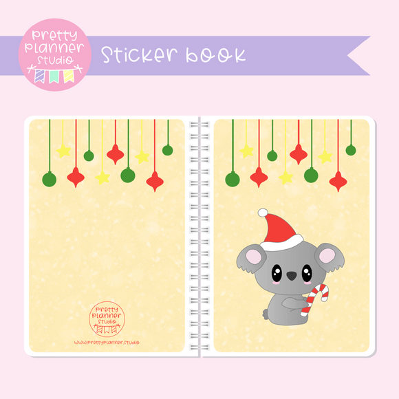 Aussie Christmas - Koala | sticker book | AC-007/4