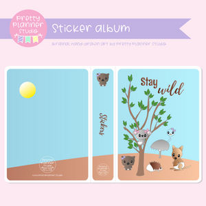 Bush friends - Stay wild | sticker album | BF-006/2