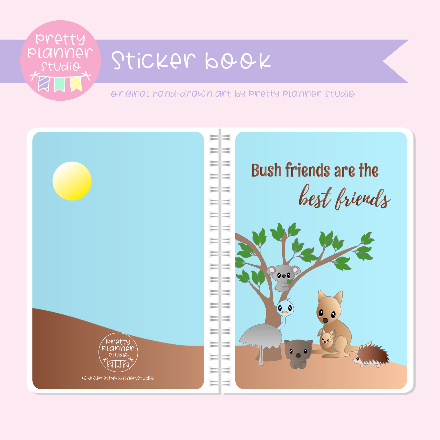 Bush friends - Are the best friends | sticker book | BF-007/1