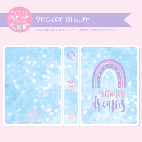 Boho style - Follow your dreams | sticker album | BS-006/3