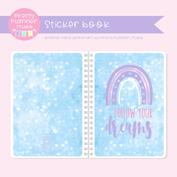 Boho style - Follow your dreams | sticker book | BS-007/3