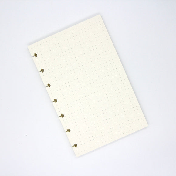 Inserts - B6 dot grid | Build your own notebook