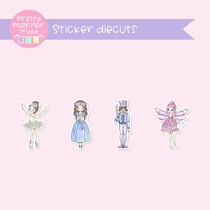 Doll kingdom - Dolls | sticker diecuts | DK-005/1