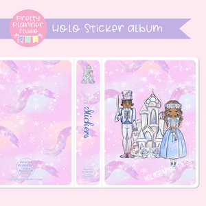 Doll kingdom - Pink sky | holo sticker album | DK-006/1H