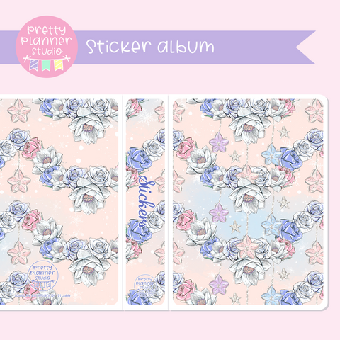 Doll kingdom - Floral | sticker album | DK-006/4
