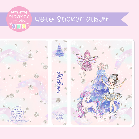 Doll kingdom - Christmas tree | holo sticker album | DK-006/5H
