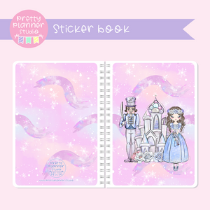 Doll kingdom - Pink sky | sticker book | DK-007/1