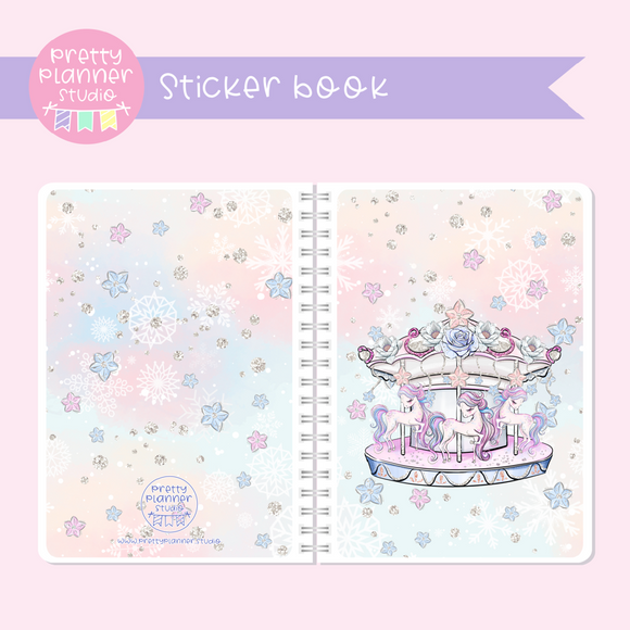 Doll kingdom - Carousel | sticker book | DK-007/2