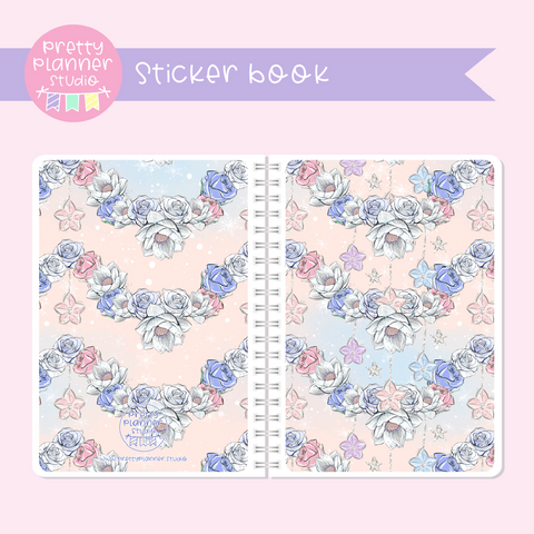 Doll kingdom - Floral | sticker book | DK-007/4
